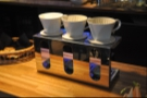 Bar des Arts' new brew bar. Have I mentioned how shiny it is?