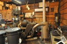 ...is Panther's 1927 Perfekt roaster, a magnificent piece of machinery.