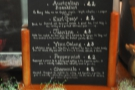 A rather blurry shot of the tea selection (all from Postcard Teas).