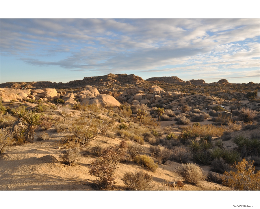 There were also some dramatic panoramic landscapes to be had, like this one...