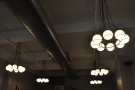 Plenty of lights in Café Grumpy, particularly at the back where's there little natural light.