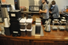 However, it's not just espresso at Café Grumpy. There's also pour-over...