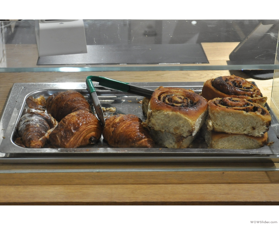 ... including croissants and sticky buns!