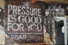 'The Pressure is good for you'... Are you sure? I'm starting to wilt!