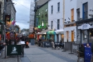On the busy, pedestrianised Quay Street in the historic heart of Galway...