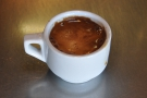 I also had a shot of the single-origin espresso, which was served in a proper cup!