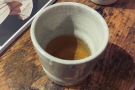 I even got to try the oolong tea, which was very fine, with a strong, vegetal taste.