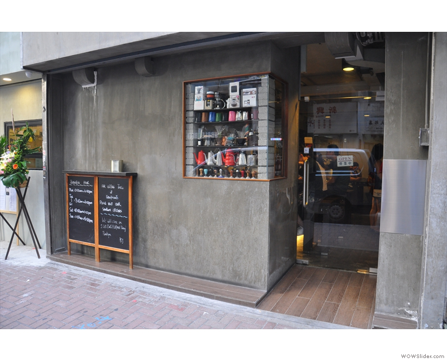 Tucked away on Jervois Street in Sheung Wan, Hong Kong, is this modest-looking spot.