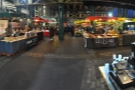 This is the view, from the barrow, looking out across what's known as the 'Green Market'.