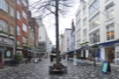 St Christopher's Place, just north of London's Oxford Street. This is the pretty view...