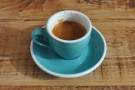 On my return in March 2017, I had the guest espresso (an Ethiopian single-origin).
