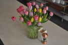 25A also has some lovely flowers on the communal table. It was tulips when I was there.