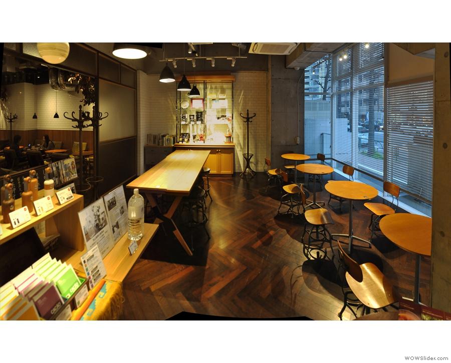 However, Maruyama Coffee keeps on going!