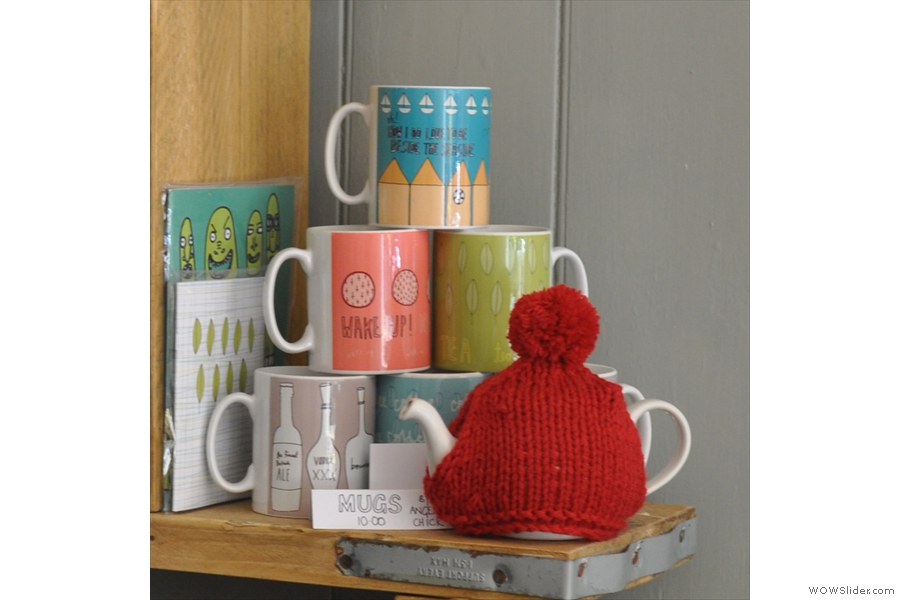 ... and the tea-cosy and the mugs!