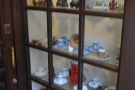... there's a lovely window-display of crockery and coffee pots to the right.