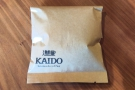 ... while I got this Yirgacheffe Wolleka from Kaido Books and Coffee in Tokyo.