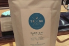 The Local Coffee Stand provided this Carrizal from Costa Rica, roasted by Trunk...