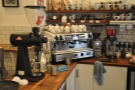 However, there is also lots of coffee to be had. The EK-43 is for the filter coffee...