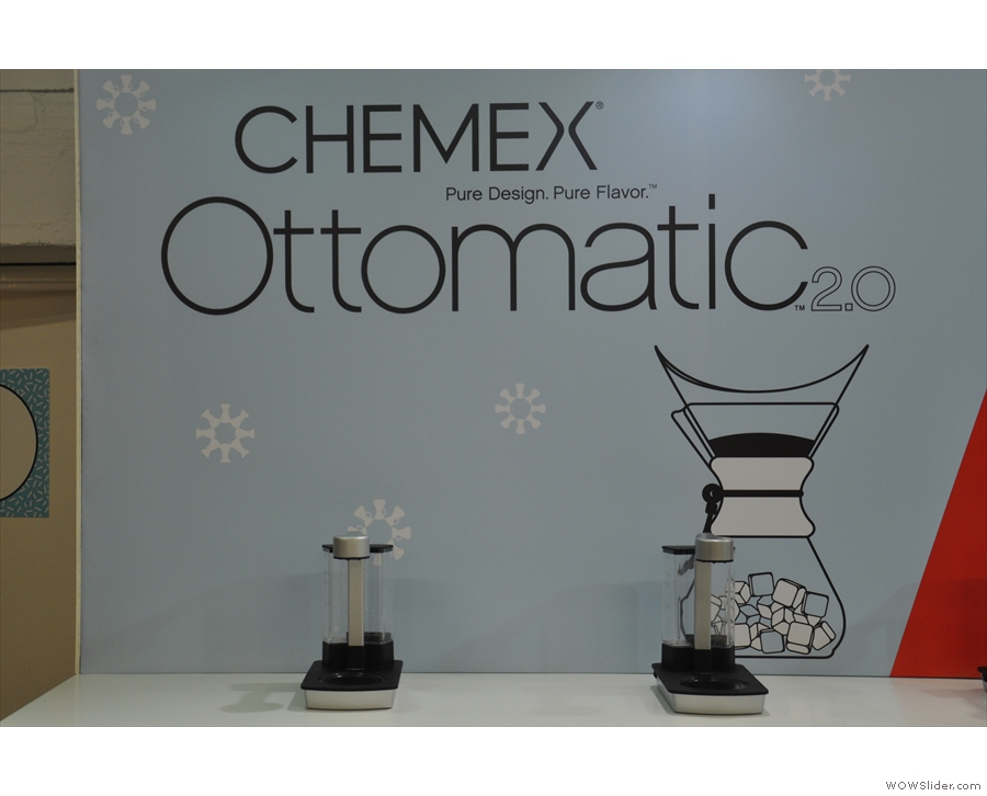Now there's the Ottomatic, an automated Chemex machine.