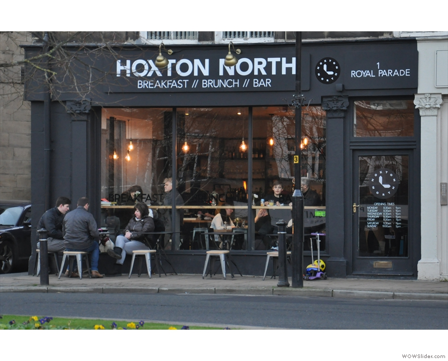 Hoxton North on the Royal Parade in Harrogate.