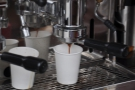 I love watching espresso extracting...