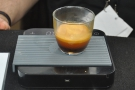 The actual process wasn't very photogenic, so let's skip to the end. A double espresso...