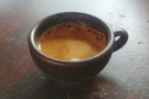 I decided to have an espresso, so out came my Kaffeeform espresso cup.