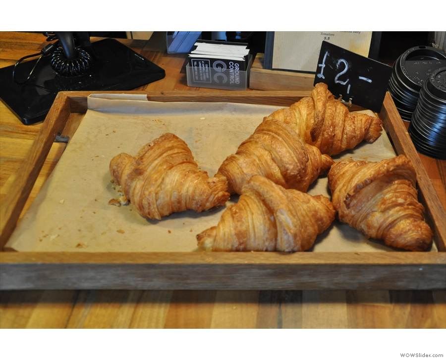 ... as well as the pastries selection.