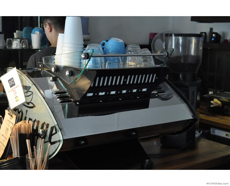 The Kees van der Westen is surely one of the sleekest-looking machines on the market.