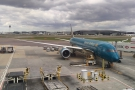 My ride for the day, a shiny, new Vietnam Airlines 787-9 to take me to Ho Chi Minh City.