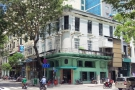 On a sunny street corner, right in the heart of Ho Chi Minh City, is this place...