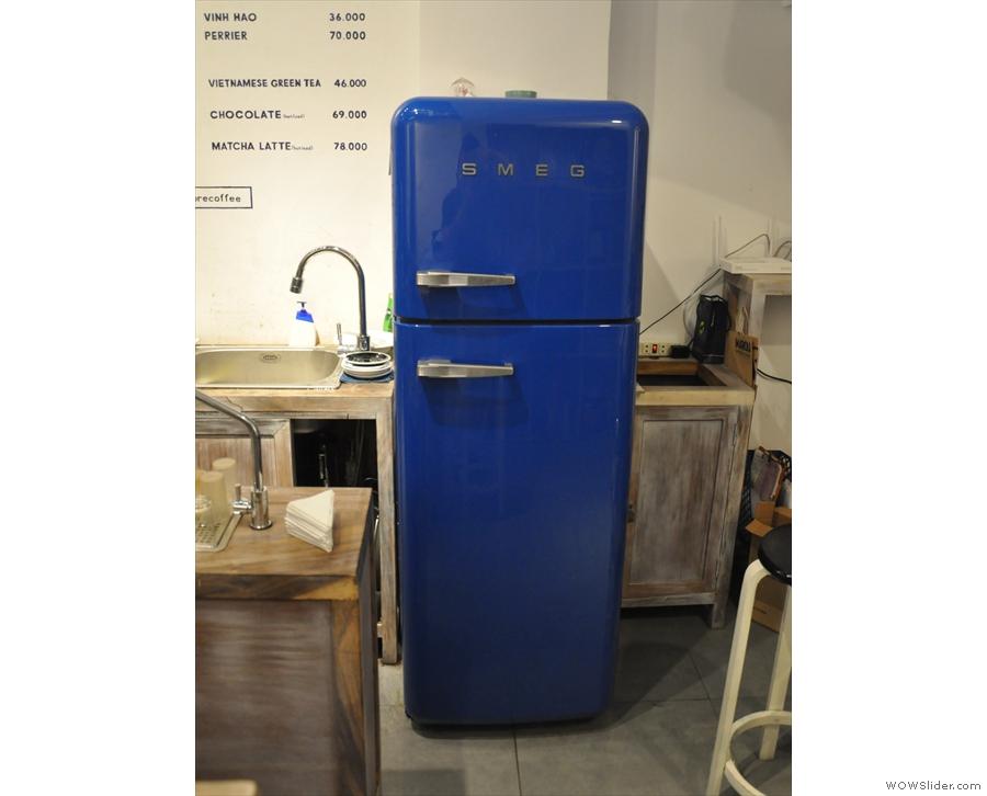 Nice fridge.
