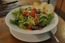 I had the garden salad for my dinner.