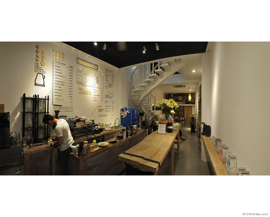 Another place specialising in Vietnamese coffee is Vietnam Coffe Republic...