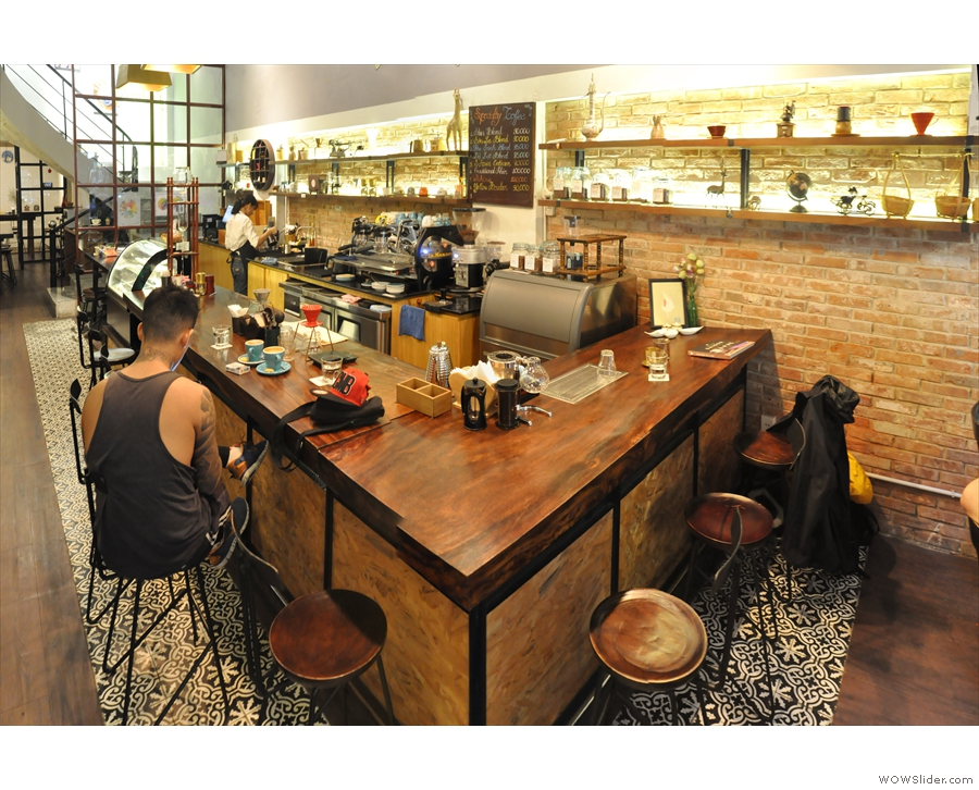 Ho Chi Minh City has some physically beautiful coffee shops, including Shin Coffee...