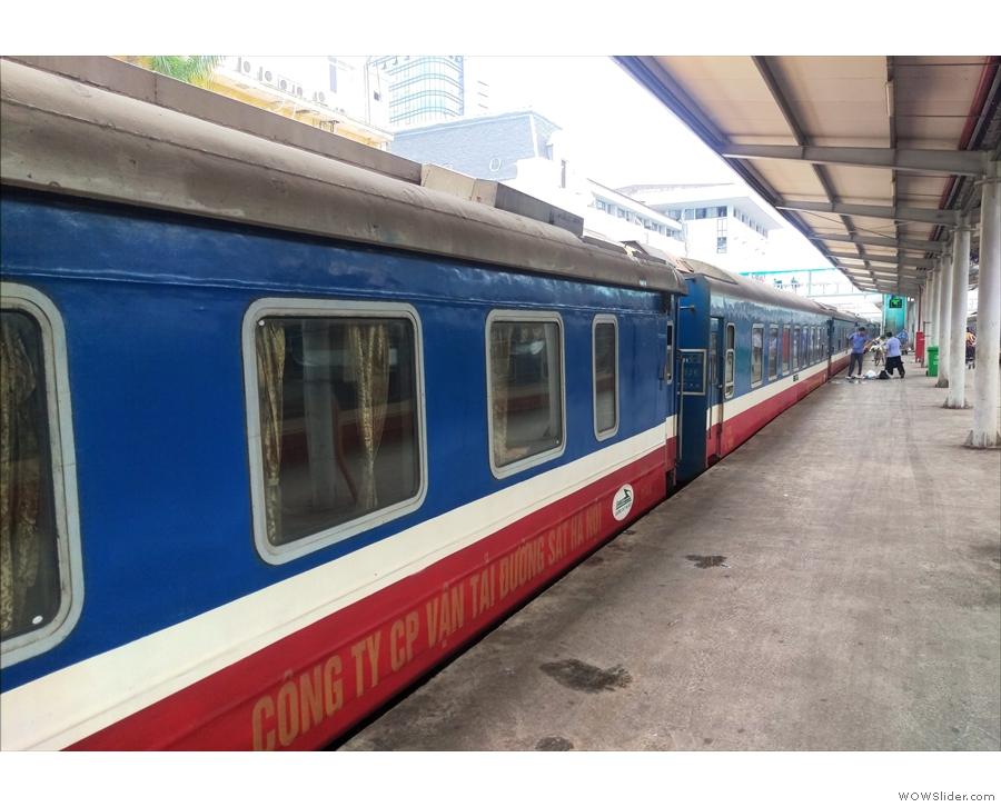 After an all-to-brief stop, it was back on the train and the sleeper to Hanoi...