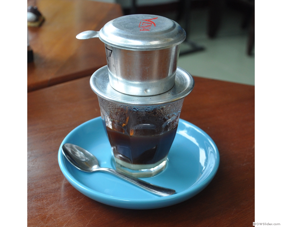 ... where I found my limits when it came to traditional Vietnamese coffee.