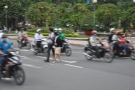 Crossing the road in Vietnam, and in Ho Chi Minh City in particular, is an act of faith!