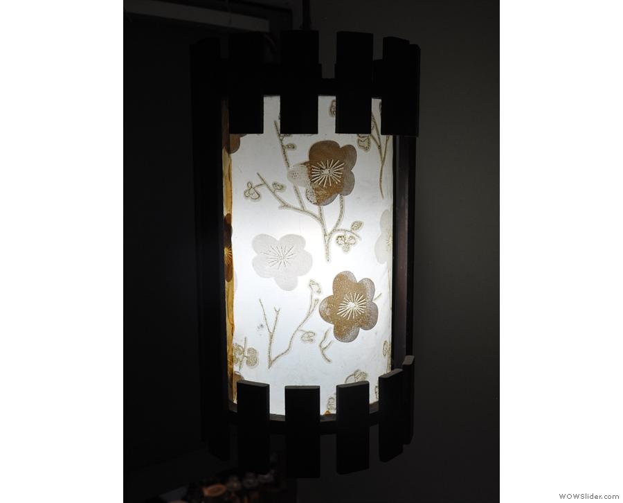 Nice lamp shade.