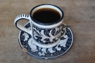 And here it is, in one of La Colombe's much-loved cups, with matching saucer.