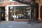 Yes, that's right: La Colombe, with its all-glass front.