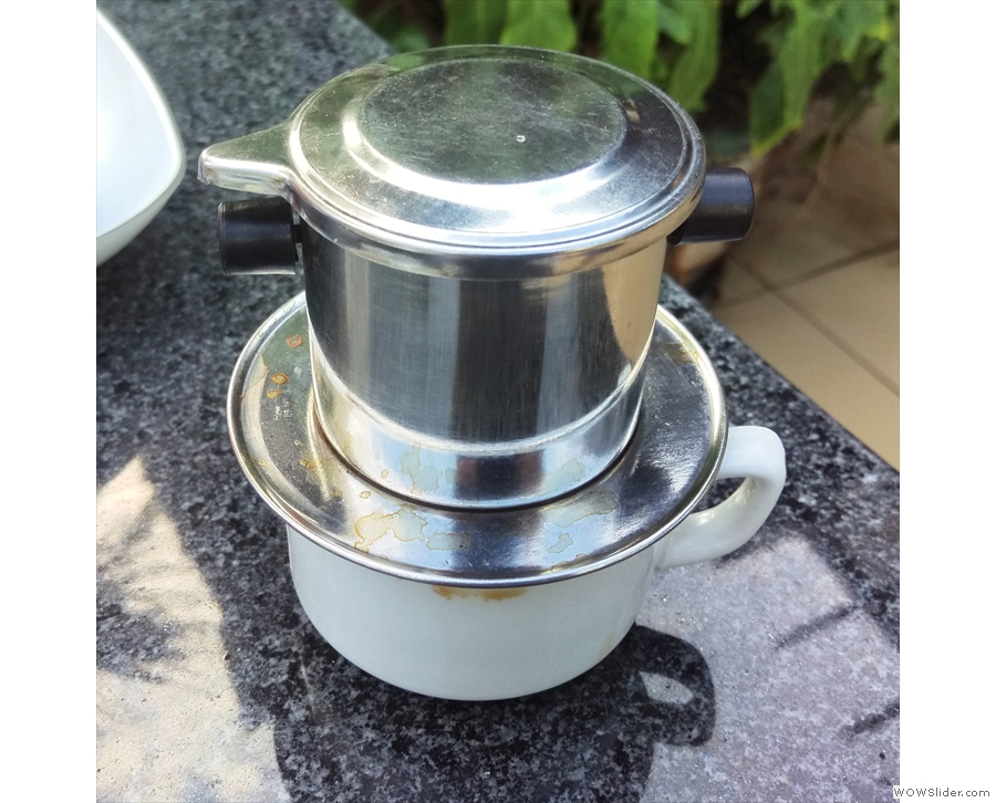 My early experience of traditional Vietnamese coffee, such as at my hotel, wasn't promising.
