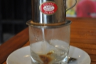 I had another excellent traditional Vietnamese coffee at Mia Coffee in Hoi An.