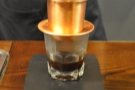 Finally, I tried speciality coffee over ice at the wonderful The Caffinet in Hanoi.