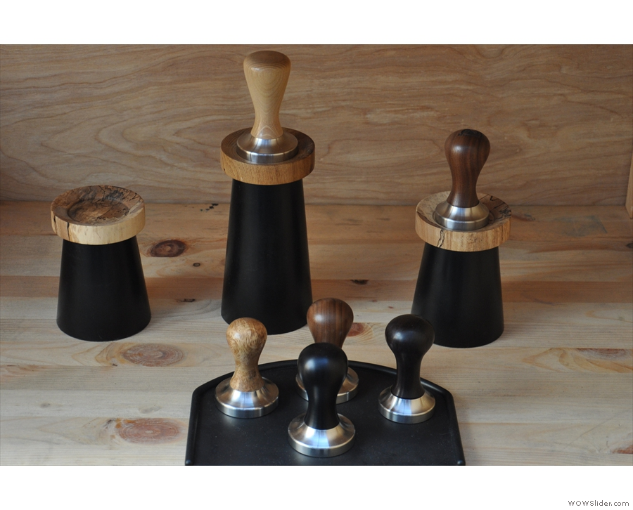 Knock made its name (literally) with a range of knock boxes and tampers.
