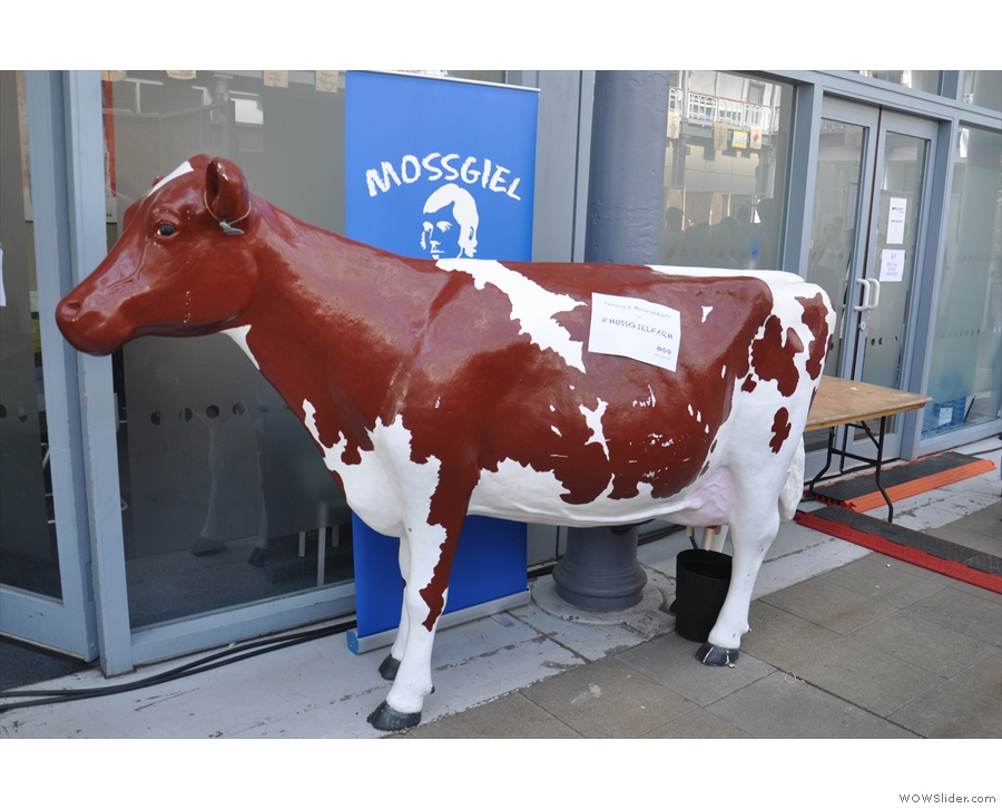While not strictly food, Mossgeil Dairy was also on hand, supplying all the festival milk.