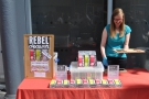 Continuing in the sweet tooth vein, there was local chocolate producer, Rebel Chocolate.