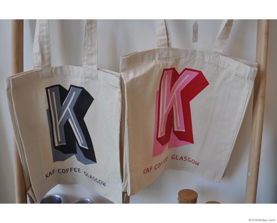 Nice tote bags.