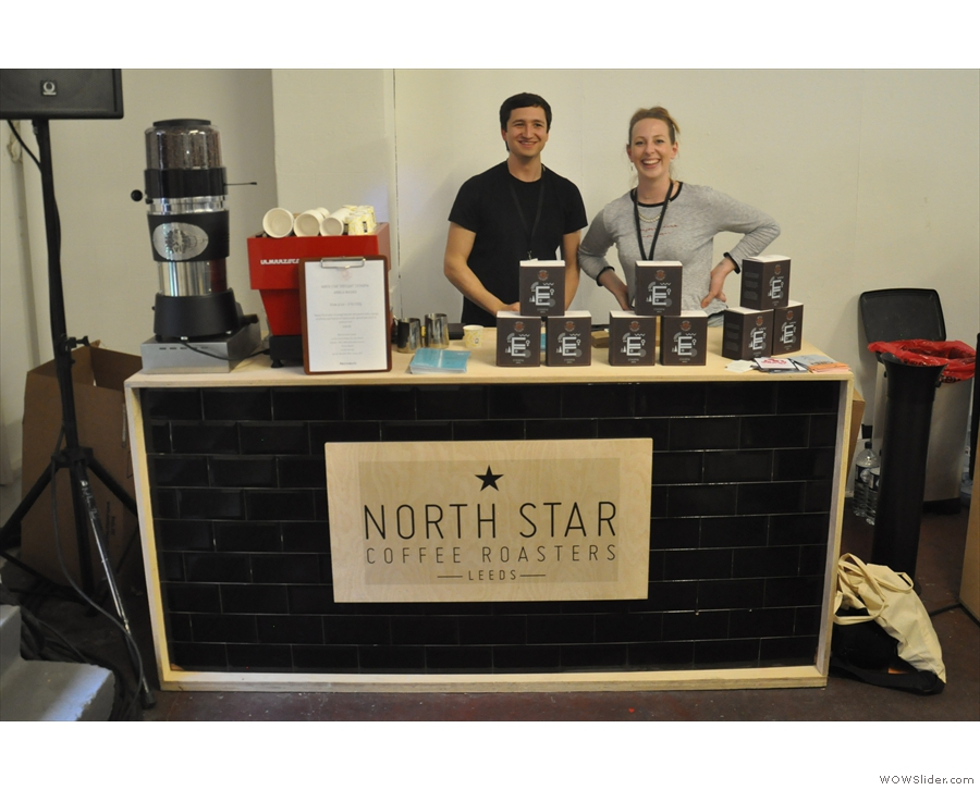 Next up, I took my Kaffeeform cup off to meet North Star...