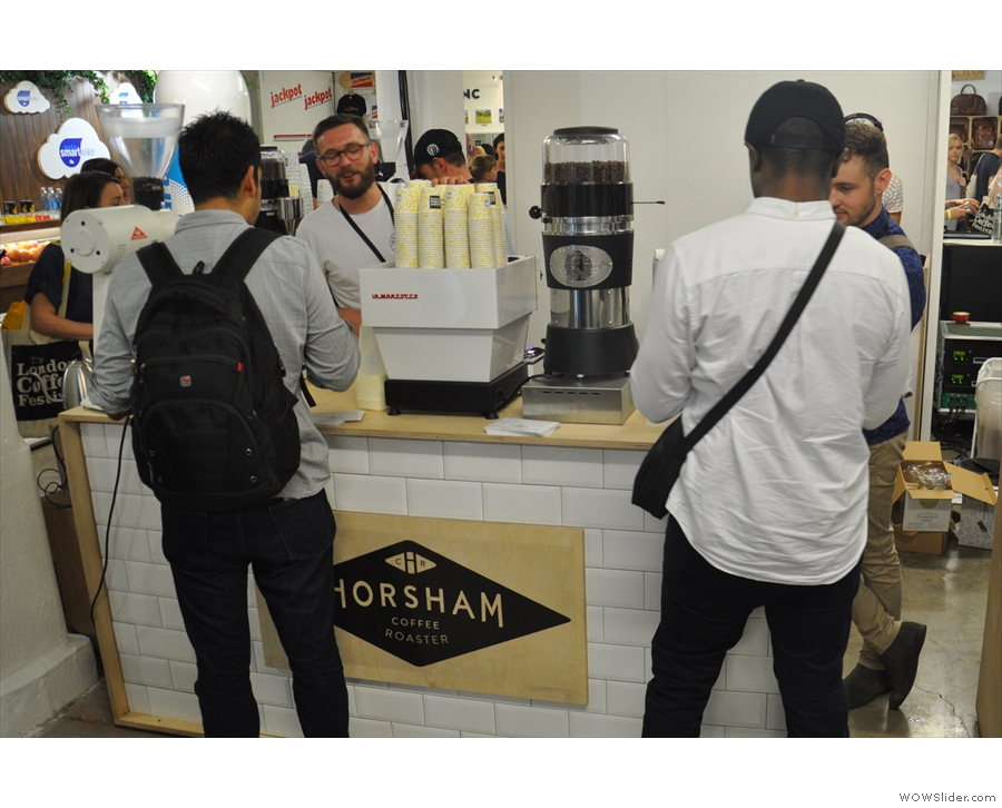 More old friends I failed to catch up with: Horsham Coffee Roaster...